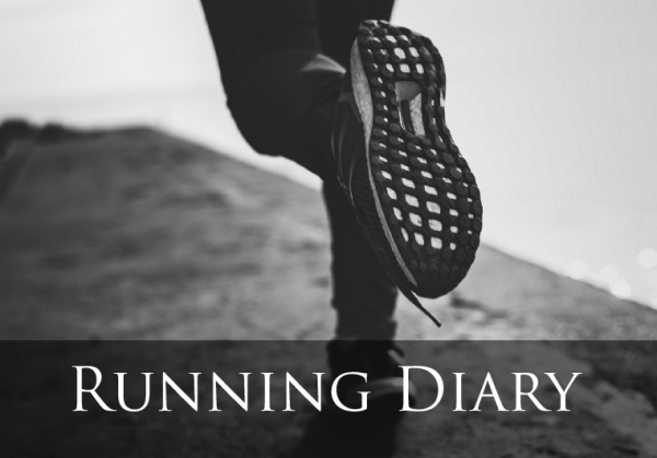 Running Diary: on the right track