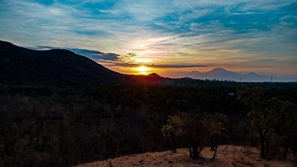 Sunset in Pemuteran, Northern Bali.